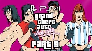 Grand Theft Auto Vice City PS4 Gameplay Walkthrough Part 9 - LOVE FIST & BIKER GANG
