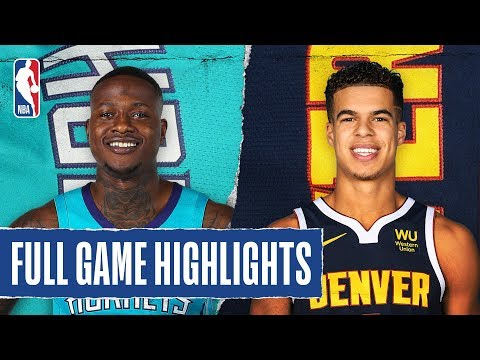 HORNETS At NUGGETS | FULL GAME HIGHLIGHTS | January 15, 2020