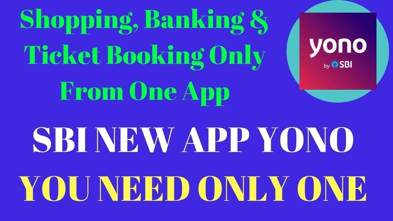 SBi Yono Mobile Banking App 2017: How to Use SBI Yono - YouTube