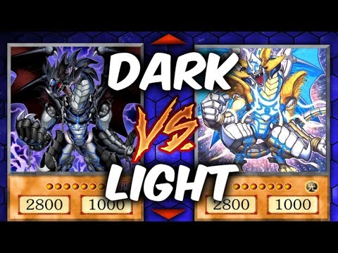 Yugioh DARK vs LIGHT - DARK VIRUS vs LIGHTRAY (YU-GI-OH! Themed Decks)