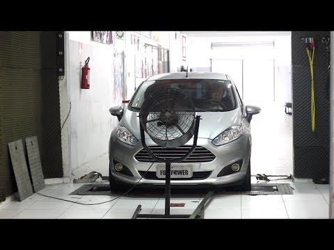 New Fiesta 1.6 acelera forte no dinammetro FULLPOWER