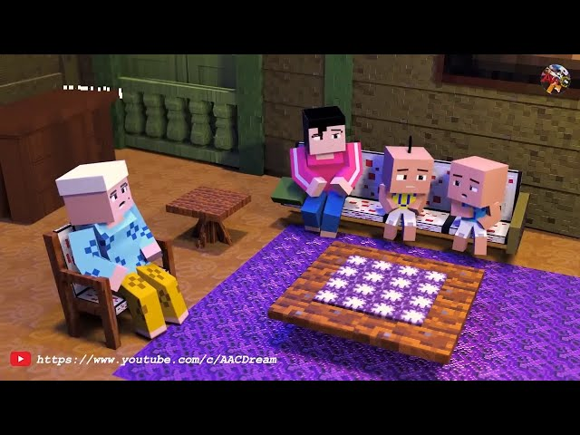 Upin & Ipin Full Episode 2019 ( Minecraft Animation )
