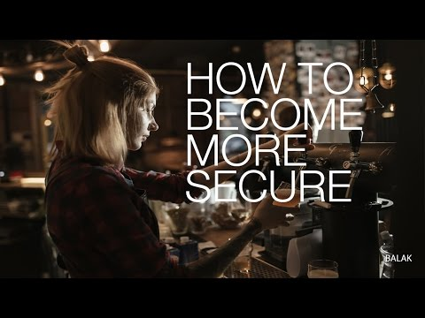 how to become a more secure person
