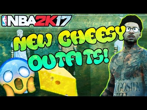 NBA2K17--NEW CHEESY AND SAUCY OUTFITS! LOOK LIKE A CHEESER