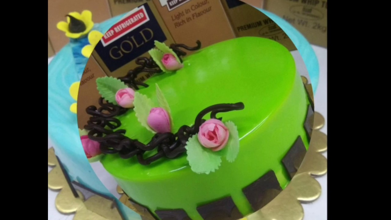 Coolest Cake Collection White Chocolate Flavour Cake Design Youtube