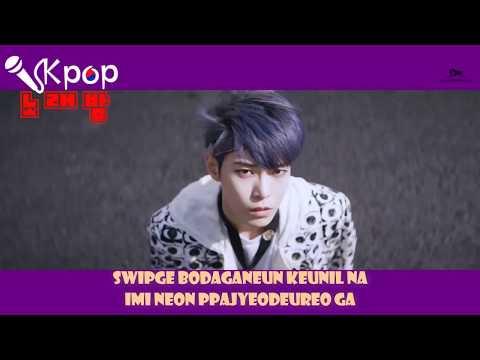 [Kpop노래방] NCT 127 - Cherry Bomb (치리밤) Karaoke Colored Code