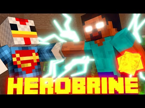 Minecraft | HEROBRINE MOD Scase! (Evil Mobs, Horror Mod, Herobrine Monster)