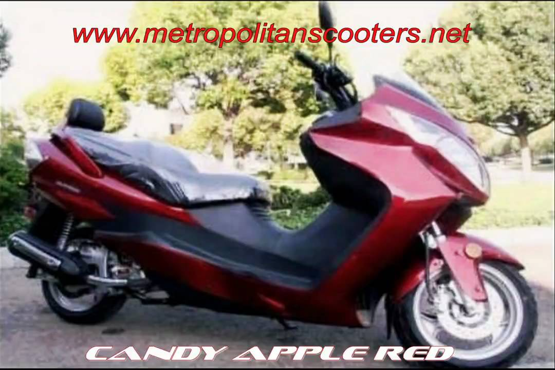 250cc Scooters   260cc Scooters   Interstate GT 260 Luxury Scooter Moped    YouTube