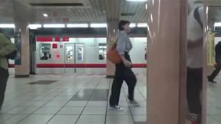 東武70000系 モハ71701 東京メトロ日比谷線銀座⇒東銀座間の車窓