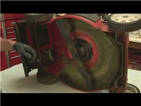 Lawn Mower Repair : How to Remove Lawn Mower Blades  YouTube