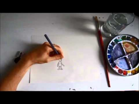 The Artist - Traditional Animation - Short Film