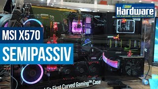 MSI | X570 Semi-passiv? | Gaming Notebooks | PCI-E 4.0 SSD Demo