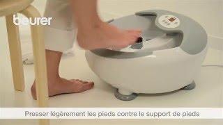 Mode d'emploi du bain de pied FB 50 Beurer