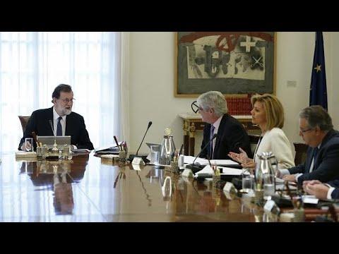 Madrid discusses direct rule on 'rebel region' Catalonia