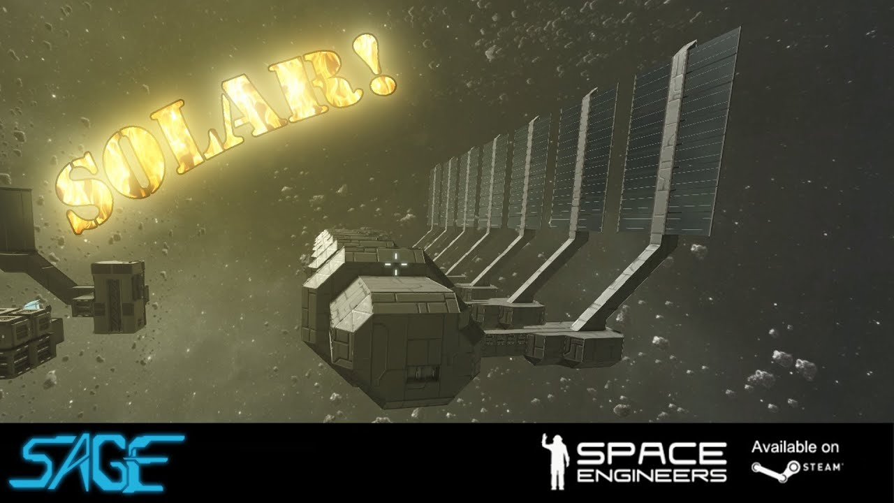 Space Engineers Solar Panels Update 01 022 Youtube
