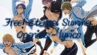 Free! Eternal Summer Opening - lyrics