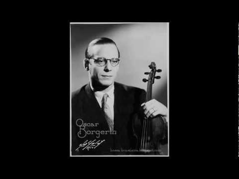 Oscar Borgerth - Franz von Vecsey - Valse Triste