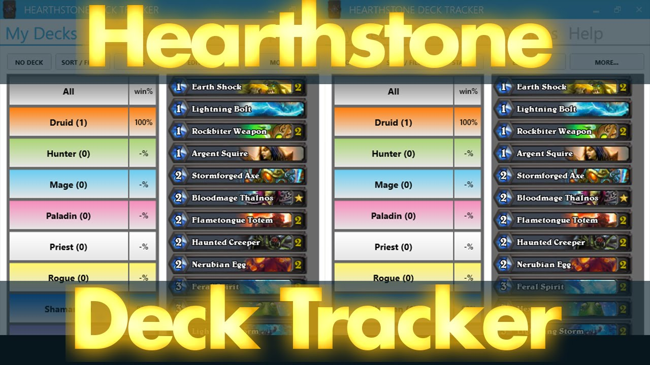 Hearthstone Deck Tracker Setup - Track your Deck's Cards ...