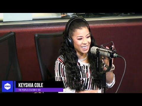 Keyshia Cole Shares New Music + Advice Live With Ryan Cameron & Jarard J