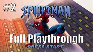 Sting of the Scorpion: Spider-Man PS1 Playthrough (Part 2)