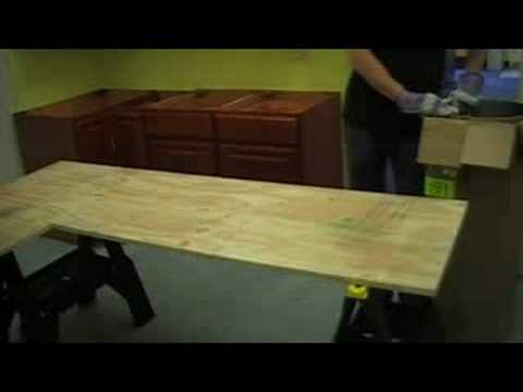 Zinc sheet countertop install part 1 youtube zinc sheet countertop install part 1 solutioingenieria Images