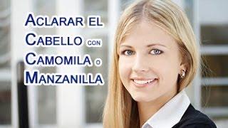 Aclarar el Cabello con Camomila o Manzanilla