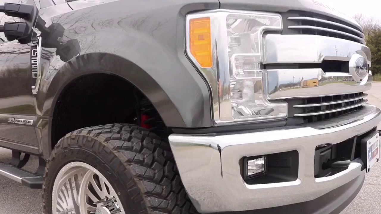 Lifted Ford F250 >> 2017 Ford F-250 American Force 22x12 leveling kit lifted ...