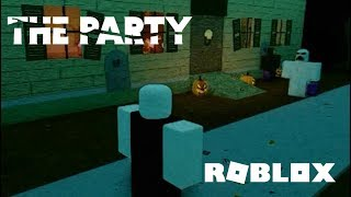 ROBLOX: THE PARTY Official Trailer (Halloween Game)