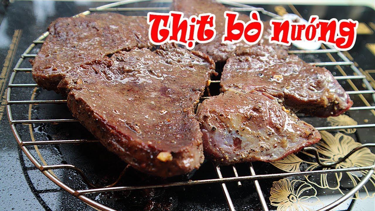Thịt bò nướng tiêu | Bò nướng đặc biệt ngon | Beef grill pepper | Tuấn Nguyễn Food
