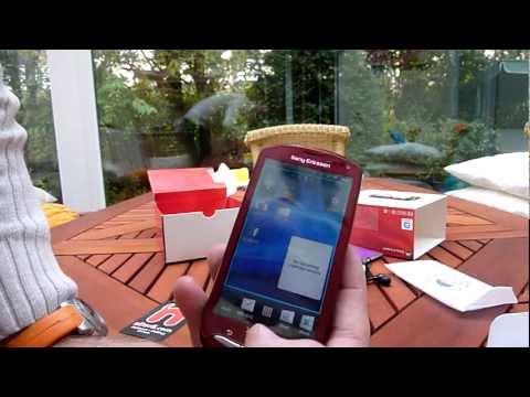 Sony Ericsson Xperia Pro im Unboxing