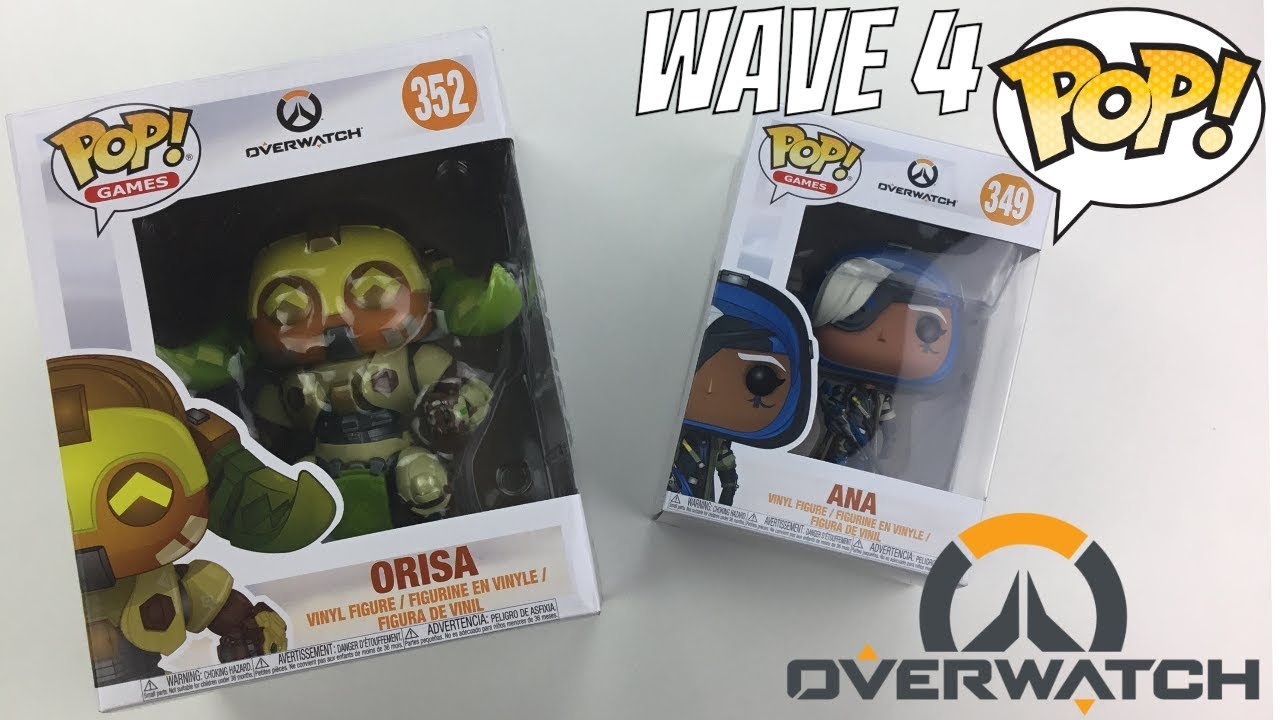 161db3d21f5 Overwatch Wave 4 COMPLETE ANA and ORISA FUNKO POP FULL COLLECTION ...