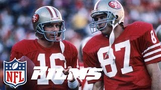 "#4 ""The Catch"" Joe Montana To Dwight Clark 