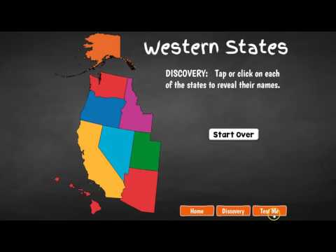 Western United States Geography