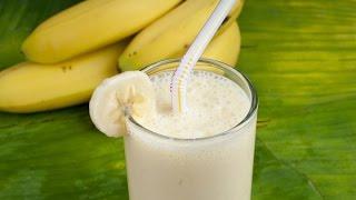Как сделать смузи из банана!!!