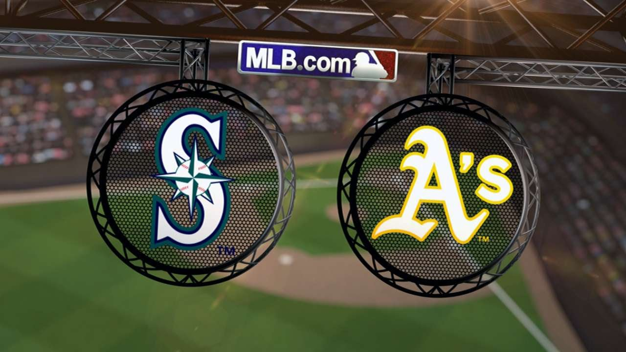 Joyce, Canha homers in 9th help A's win despite ugly inning