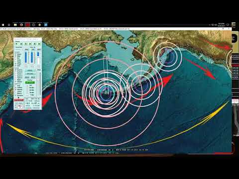 10/24/2017 -- Large Earthquake Warning -- MAJOR ACTIVITY across Pacific -- BE ON WATCH