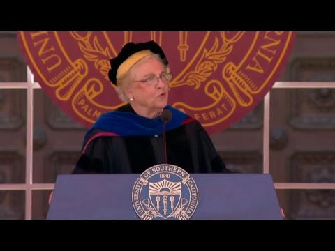 2017 USC Suzanne Dworak-Peck School of Social Work Commencement – 11:30 am