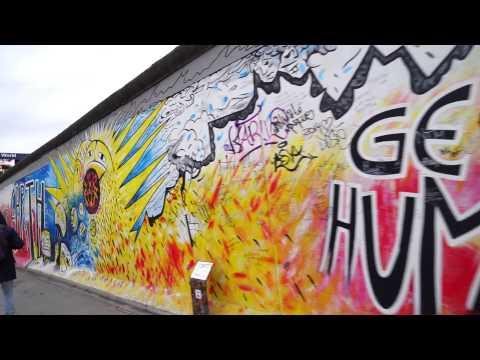 Cycling in Berlin Wall (East side gallery)