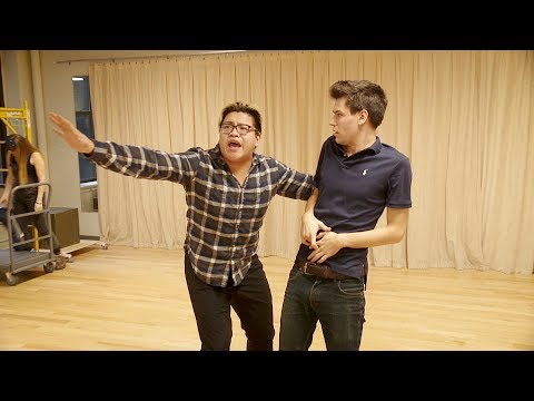 The Lightning Thief: The Percy Jackson Musical Tour Rehearsal Highlights