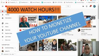TUTORIAL :HOW TO MONETIZE YOUR VIDEO / CHANNEL (Part 2)