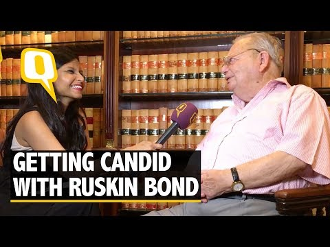 """""""My One-Sided Affair Affected me Badly For a Bit!"""" Reveals Ruskin Bond - The Quint"""