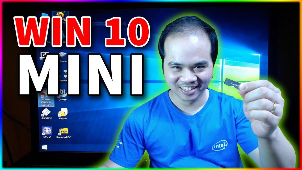 Tự làm Win10 Mini để cứu hộ máy tính