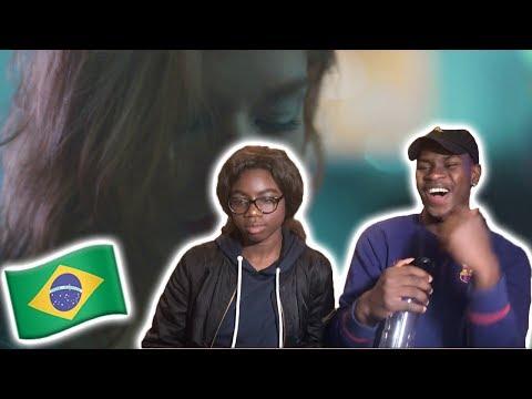 Gringos Reagem a Coração de Aço - Hungria Hip Hop (VídeoClipe Oficial) - BLACK REACTION