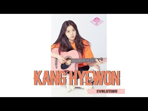 Kang Hyewon 강혜원 Evolution In Produce 48