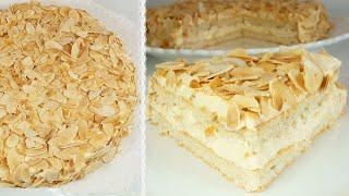 ШВЕДСКИЙ МИНДАЛЬНЫЙ ТОРТ как в ИКЕА Невозможно оторваться Миндальный торт как в Икее Хочу ТОРТ