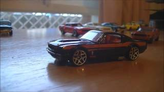 hot wheels shelby gt 500 and ford mustang die cast collection review
