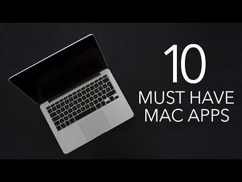 10 Must Have Mac Apps (2016)