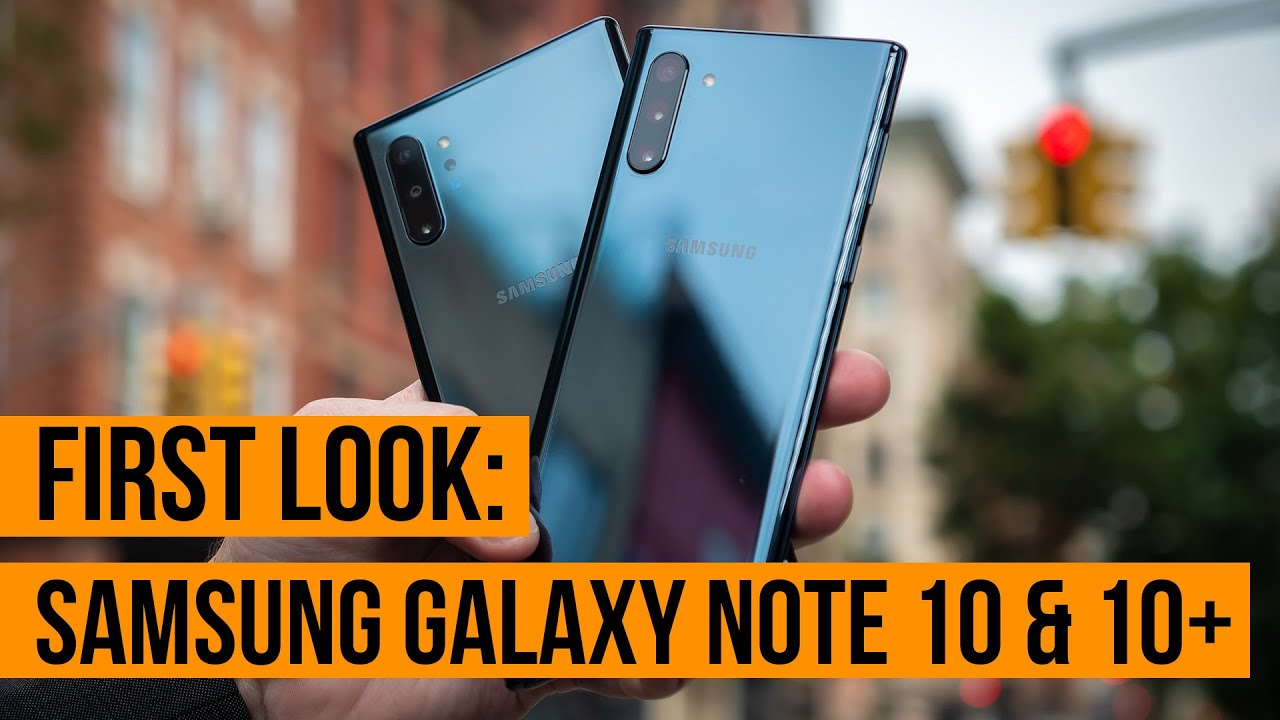 Samsung Galaxy Note 10 gets a big brother the Note 10+ and