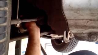 Verificando o nível de óleo da caixa de marcha da Meriva