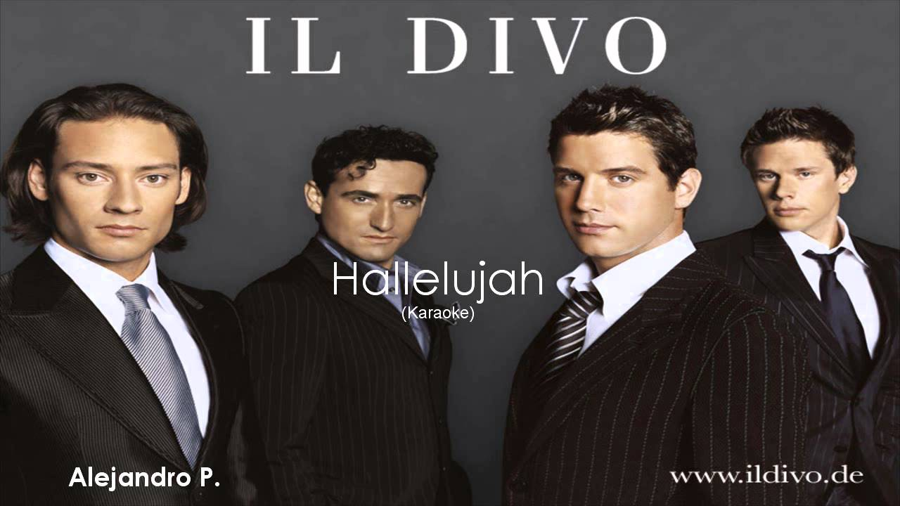 Il Divo - Hallelujah (Live In London 2011) - YouTube